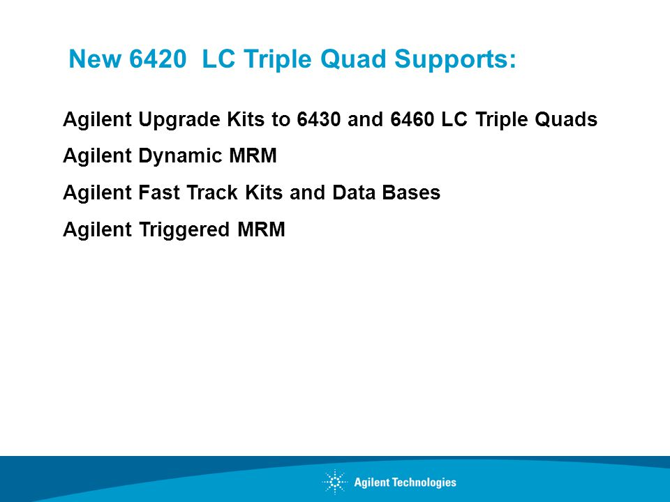 New 6420 LC Triple Quad Supports:
