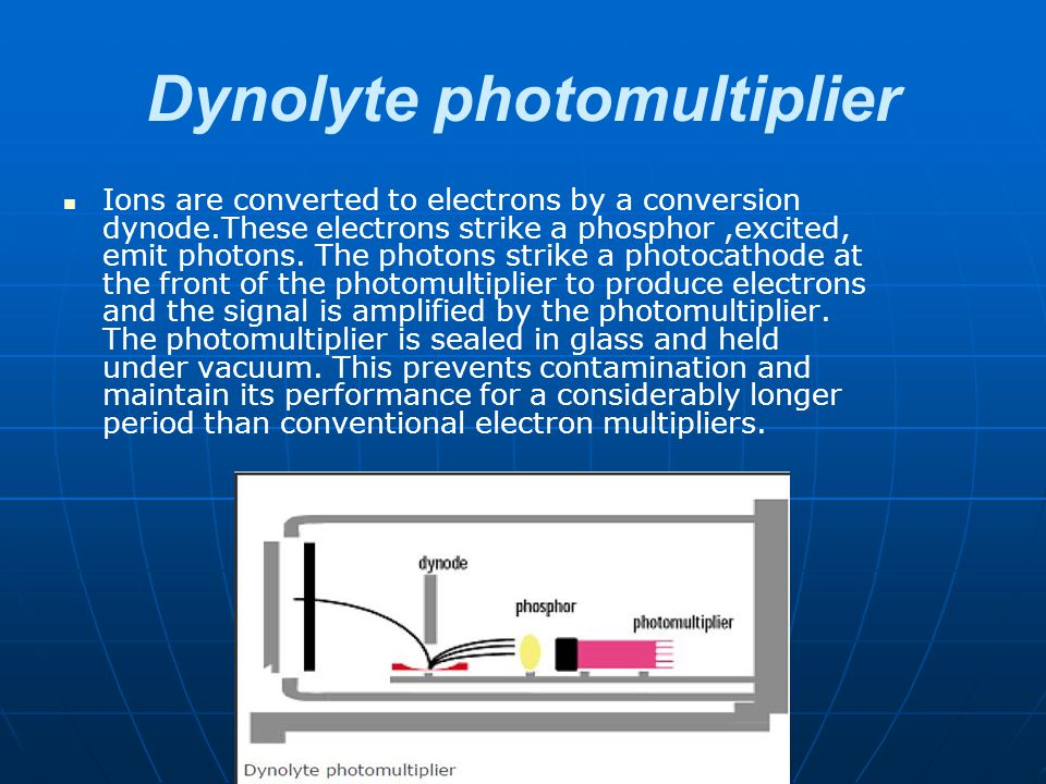 Dynolyte photomultiplier