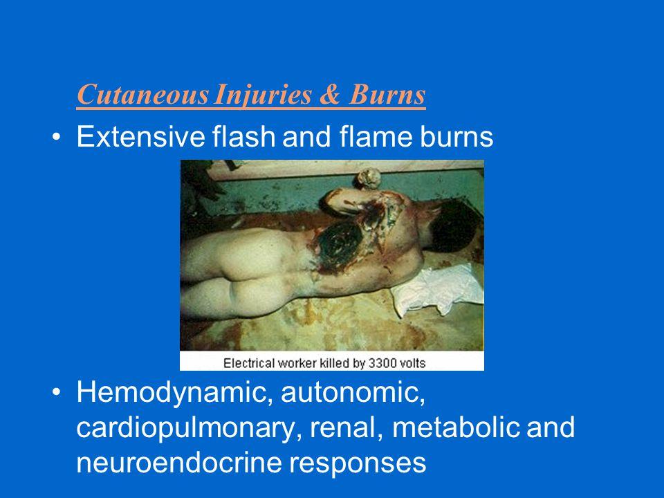 Cutaneous Injuries & Burns