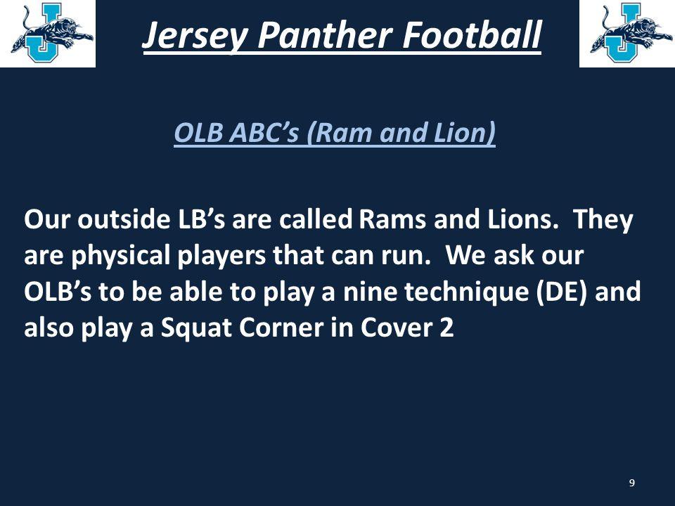 Jersey Panther Football