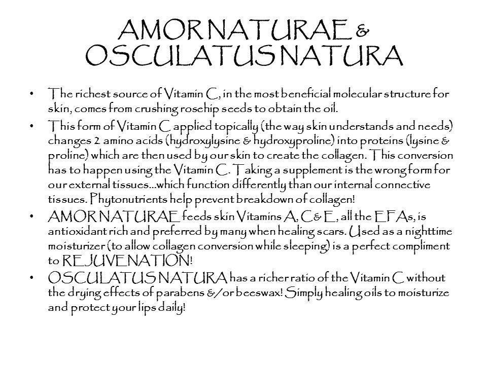AMOR NATURAE & OSCULATUS NATURA