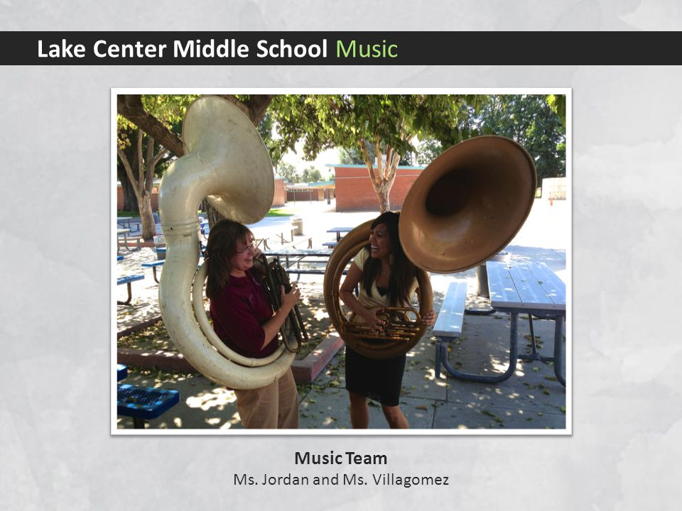 Lake Center Middle School Music