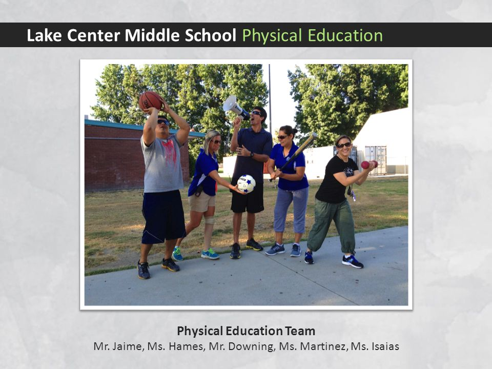 Lake Center Middle School Physical Education