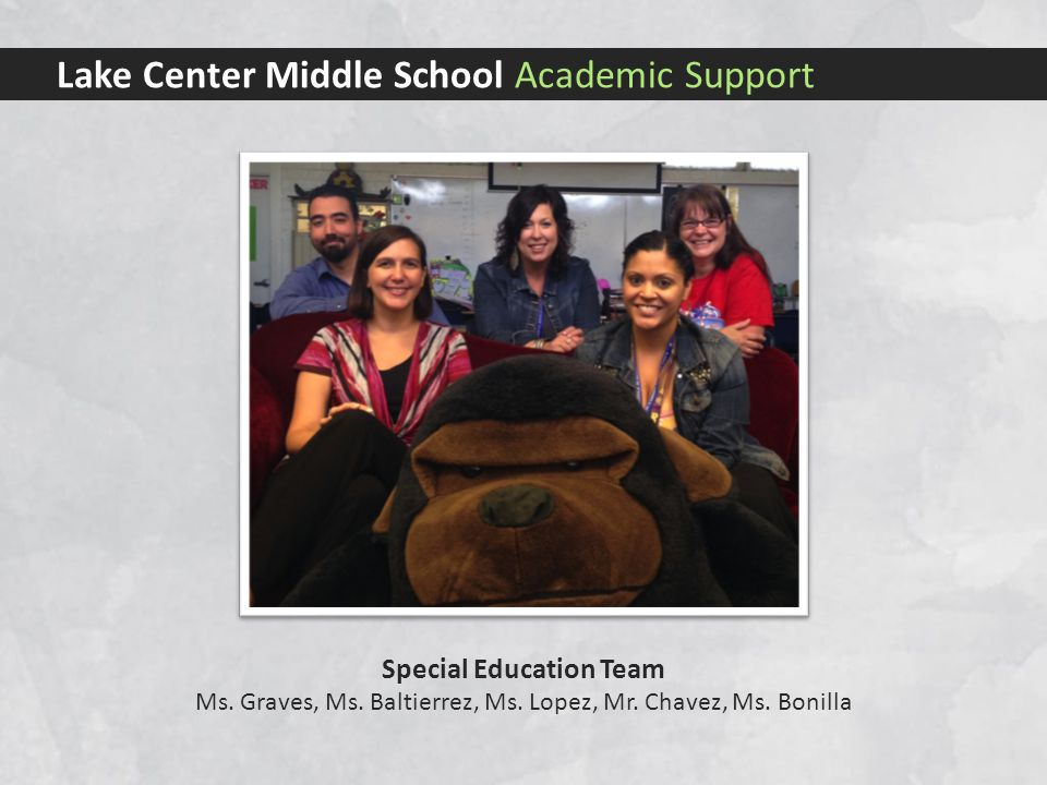 Lake Center Middle School Academic Support