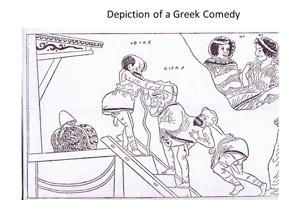 Depiction of a Greek Comedy