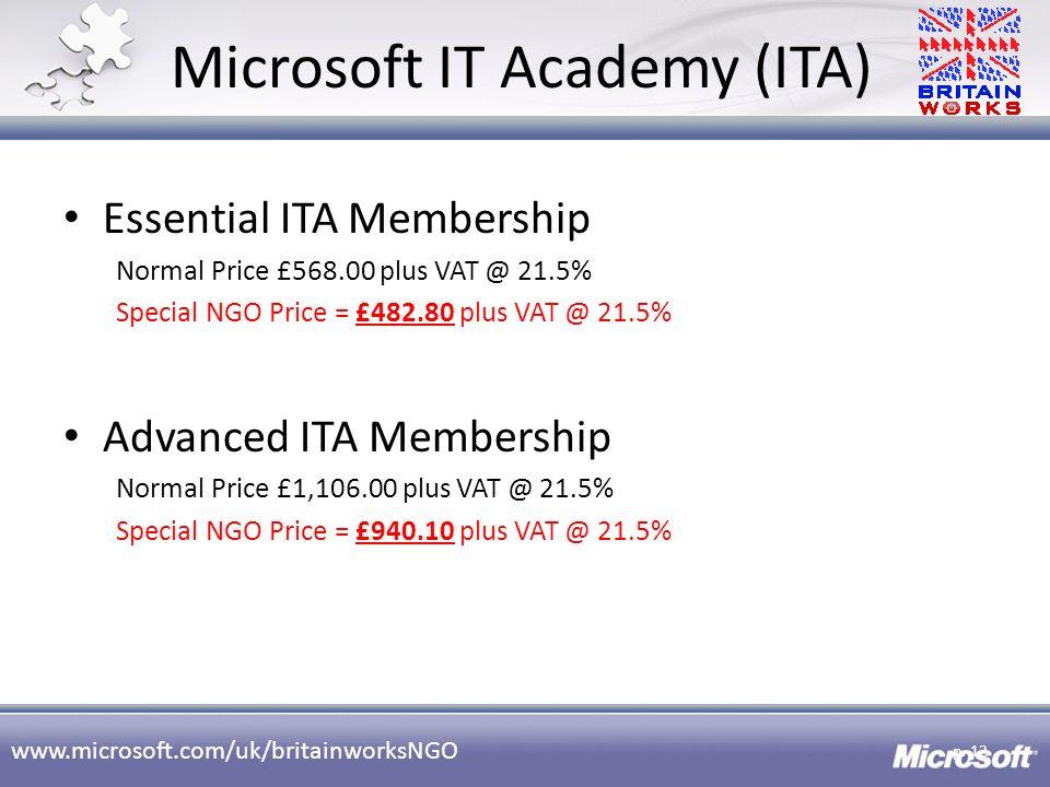 Microsoft IT Academy (ITA)