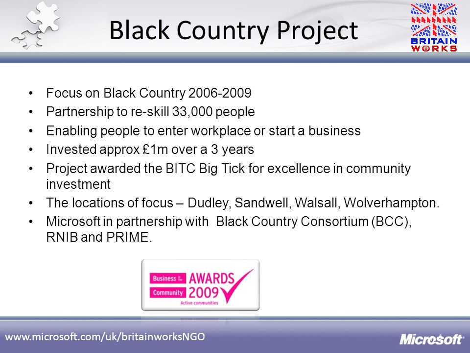 Black Country Project Focus on Black Country 2006-2009