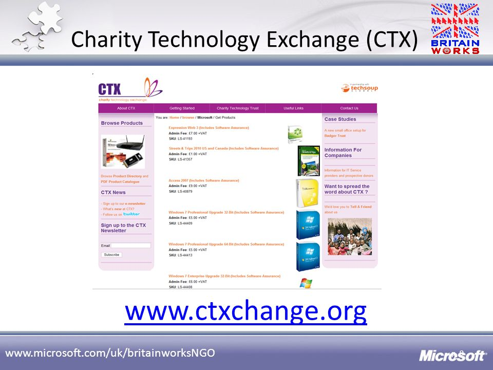 Charity Technology Exchange (CTX)