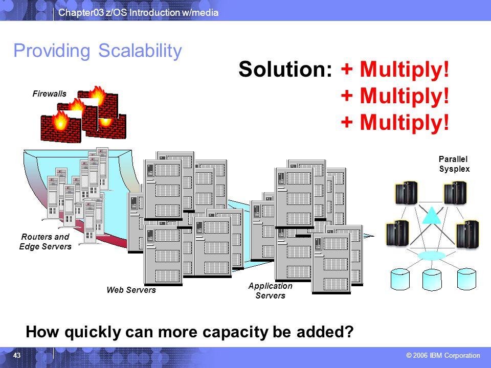 Providing Scalability