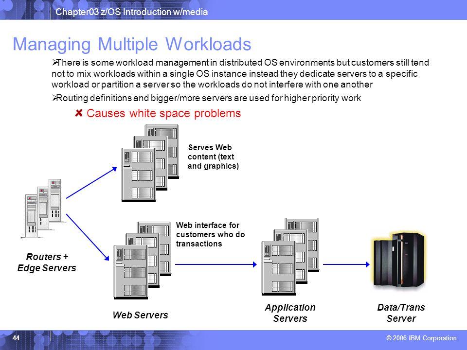 Managing Multiple Workloads