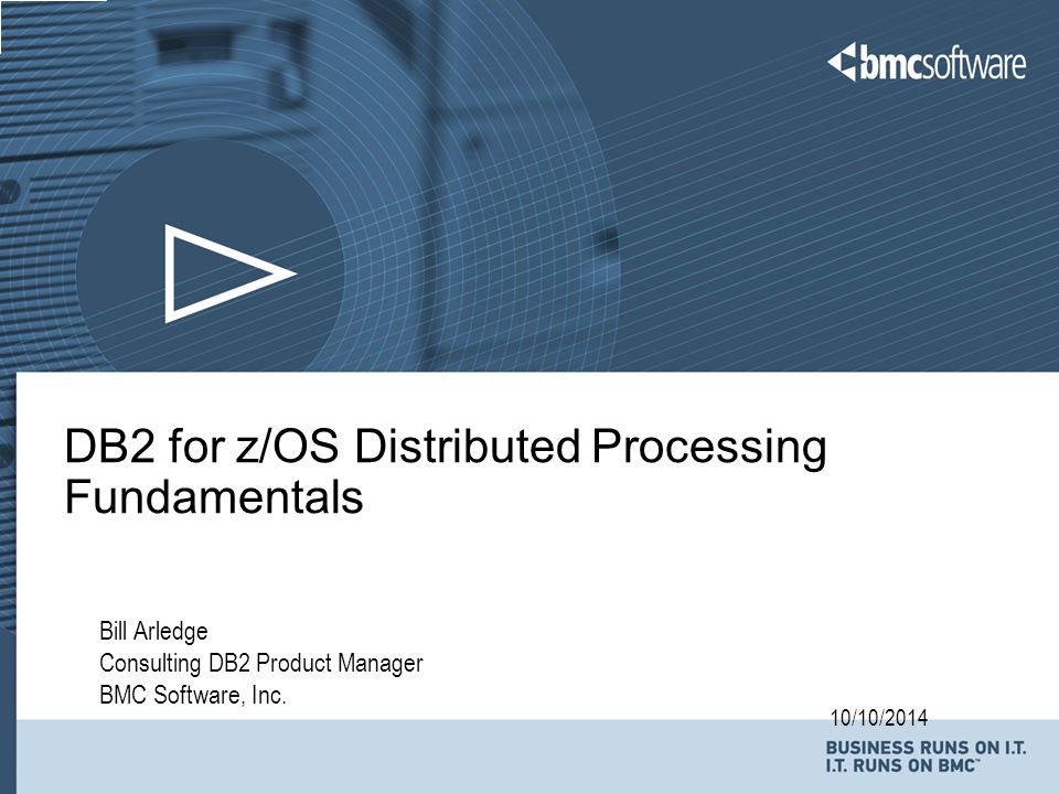 DB2 for z/OS Distributed Processing Fundamentals