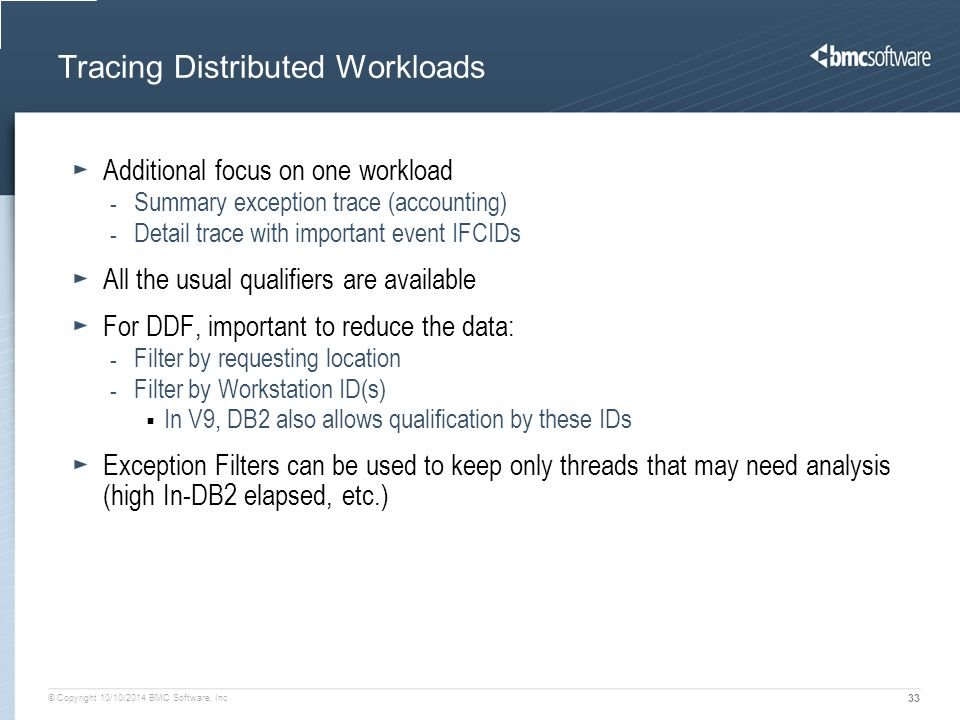 Tracing Distributed Workloads