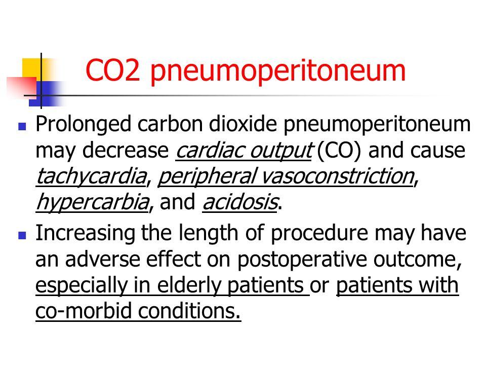 CO2 pneumoperitoneum