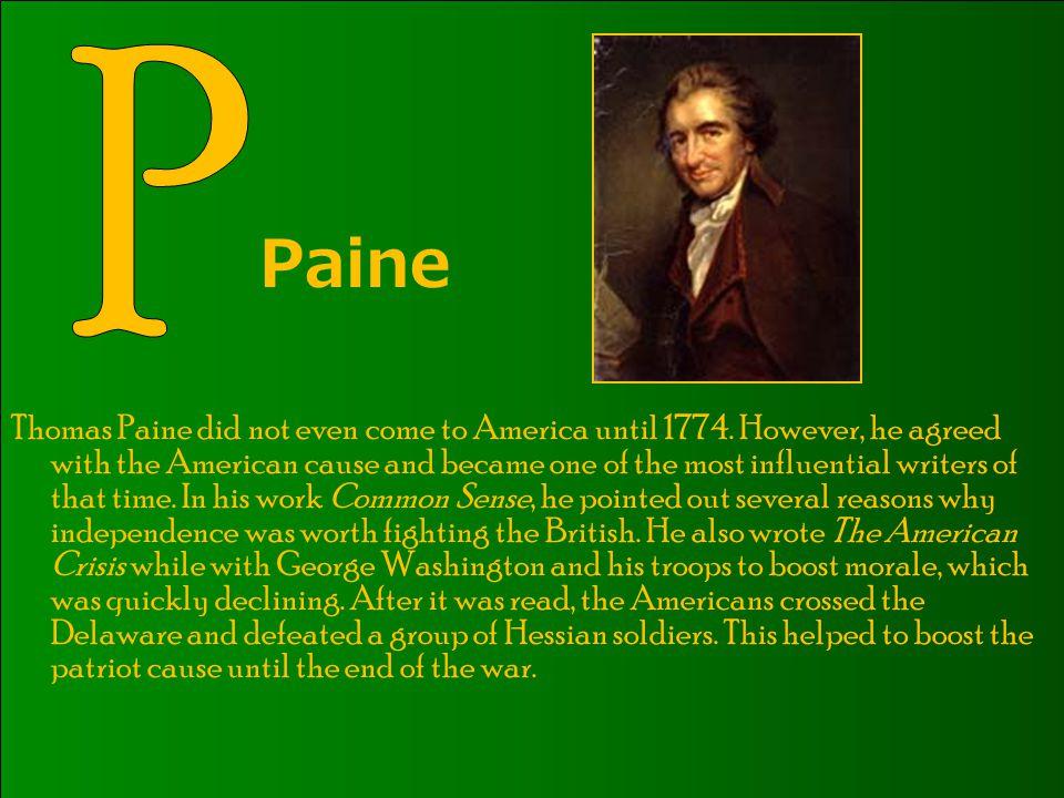 P Paine.