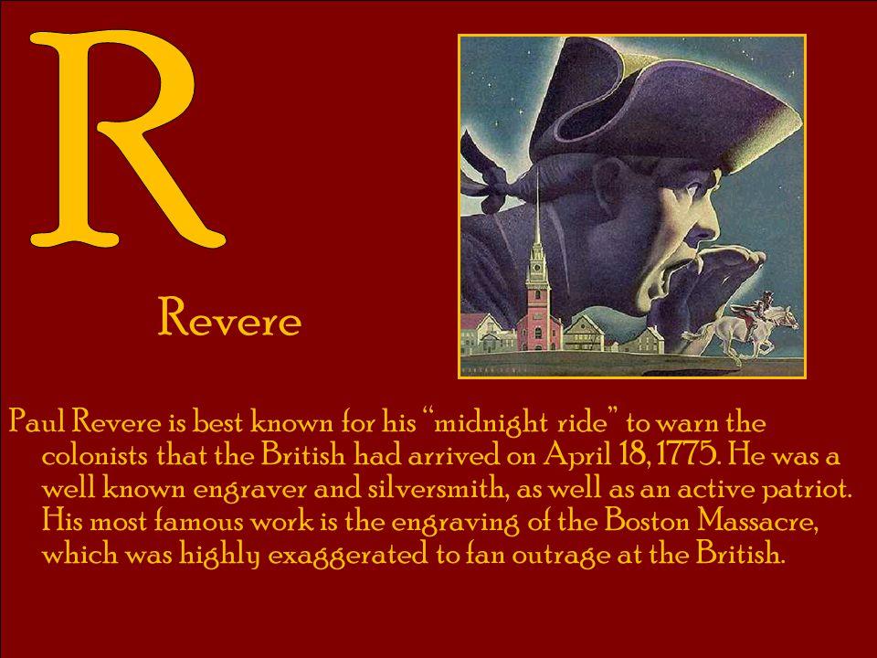 R Revere.