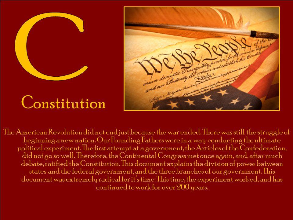 C Constitution.