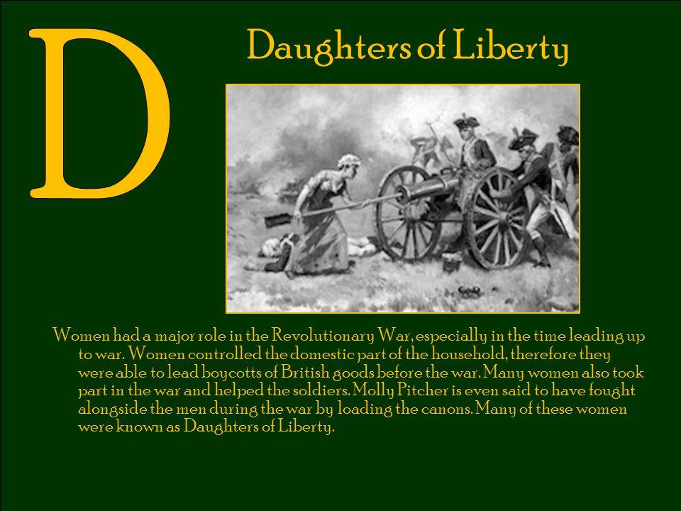 Daughters of Liberty D.