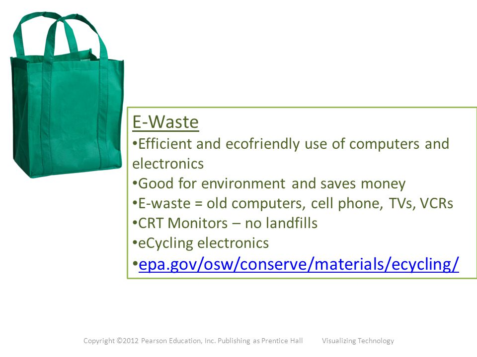 E-Waste epa.gov/osw/conserve/materials/ecycling/