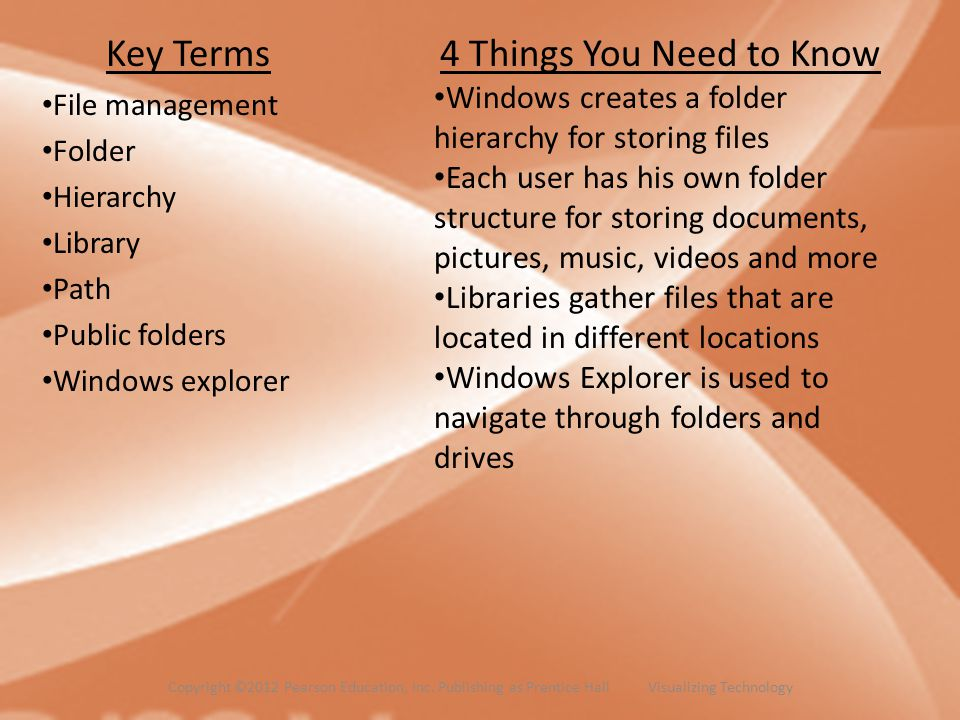 Key Terms 4 Things You Need to Know