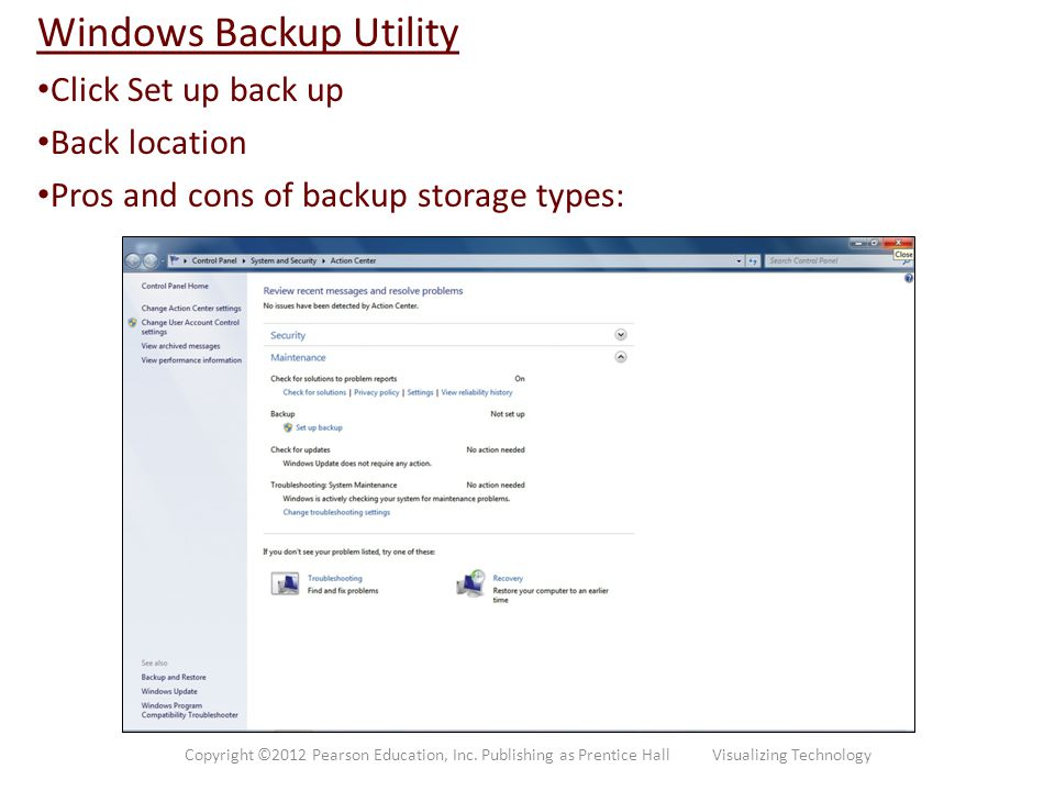Windows Backup Utility