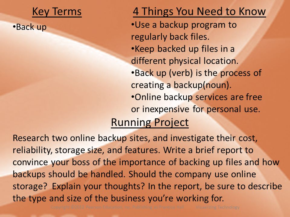 Key Terms 4 Things You Need to Know Running Project