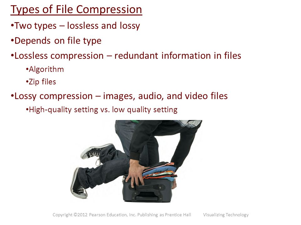 Types of File Compression