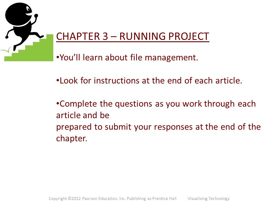 CHAPTER 3 – RUNNING PROJECT