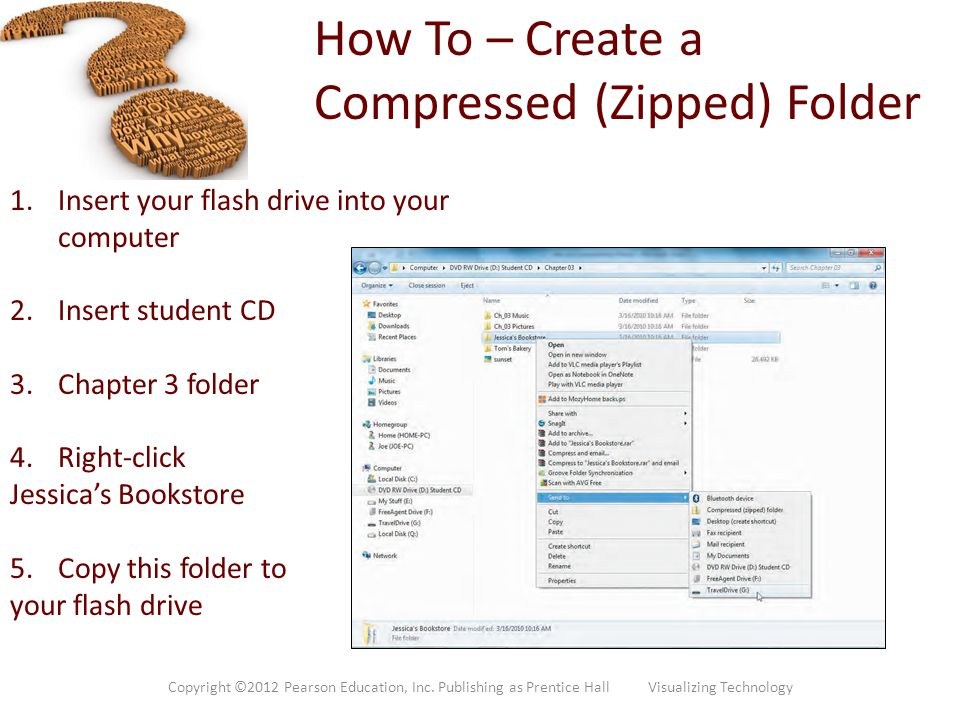 How To – Create a Compressed (Zipped) Folder