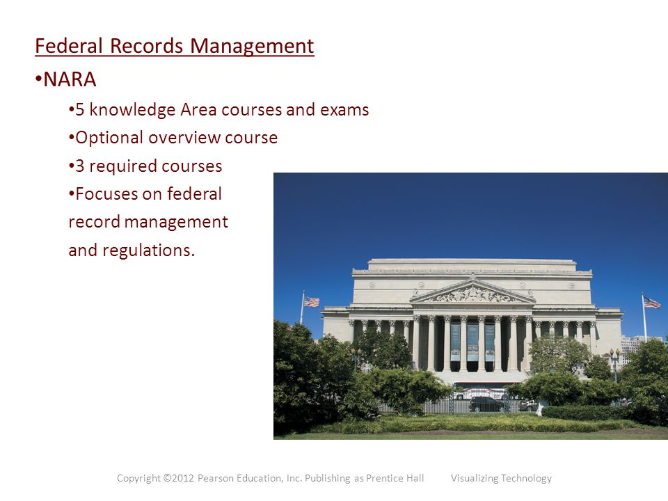 Federal Records Management NARA