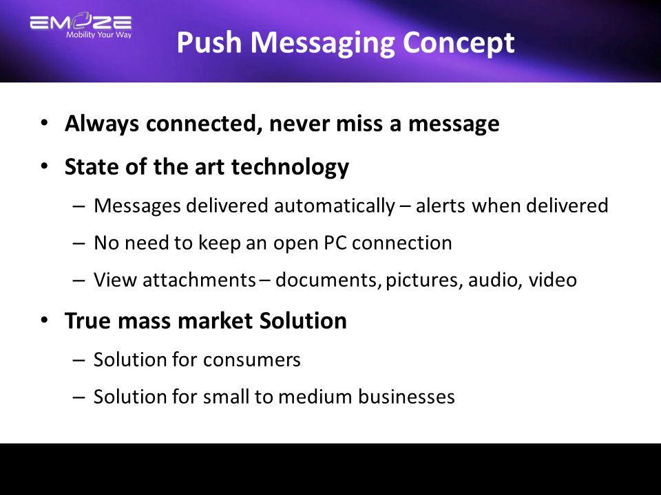 Push Messaging Concept
