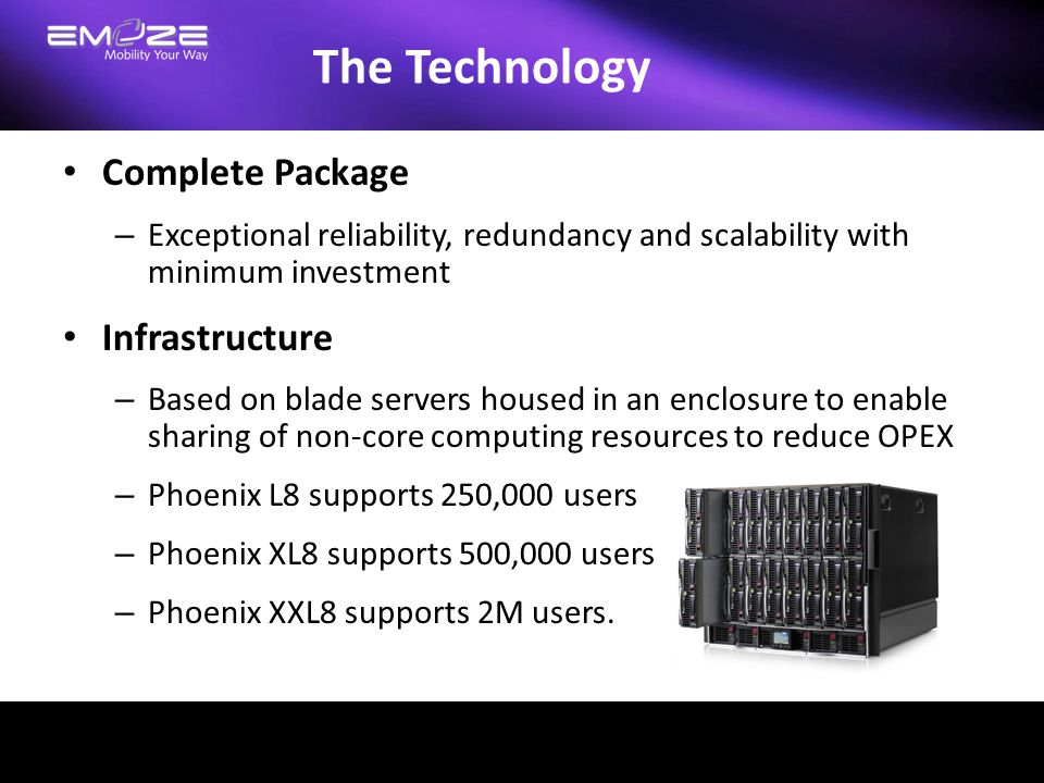 The Technology Complete Package Infrastructure