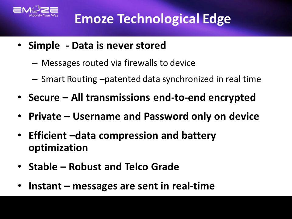 Emoze Technological Edge