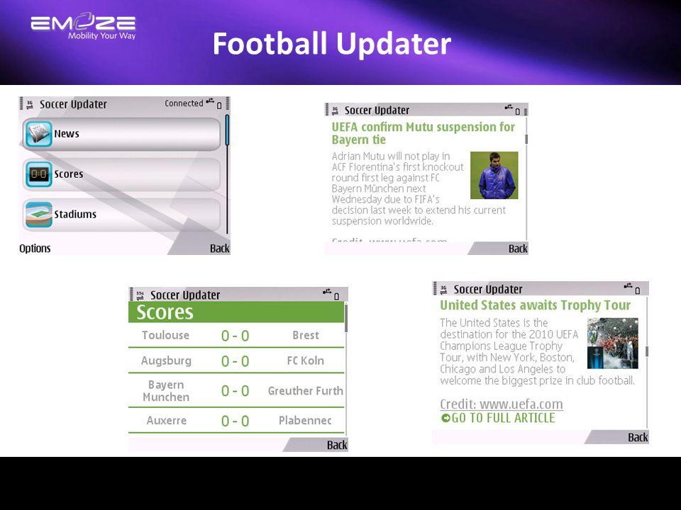 Football Updater
