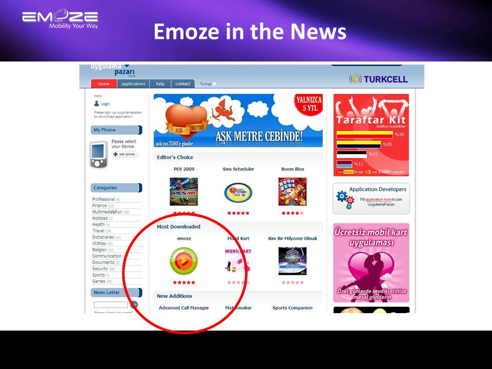 Emoze in the News