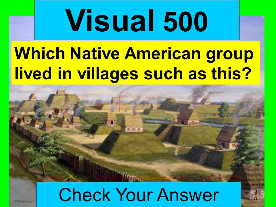 Visual 500 Check Your Answer