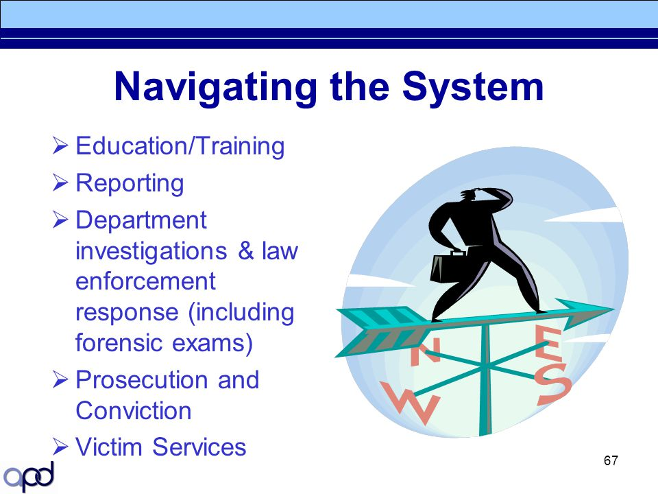 Navigating the System Education/Training Reporting