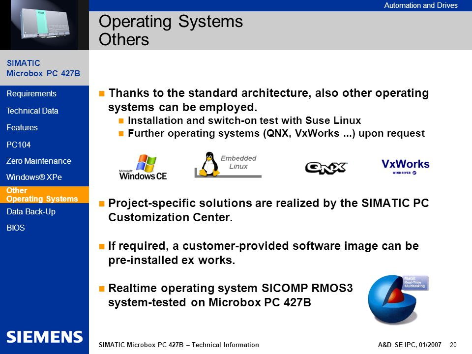 Operating Systems Others