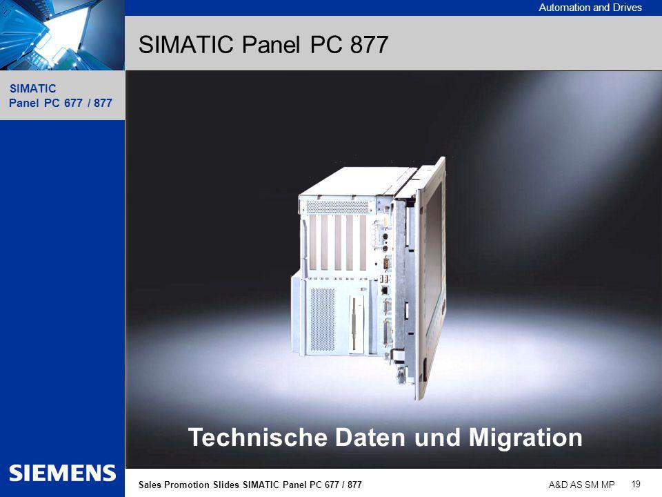 Technische Daten und Migration