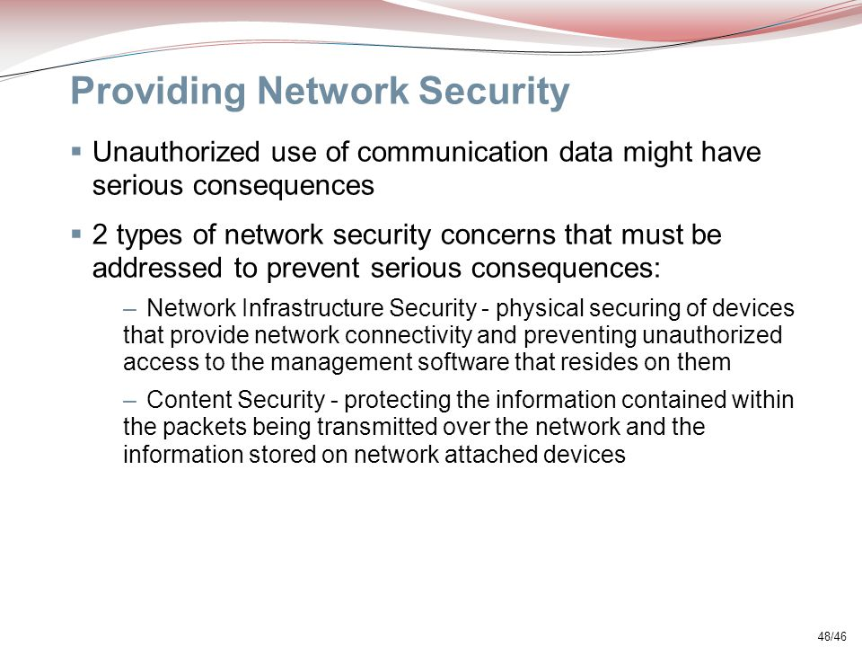 Providing Network Security
