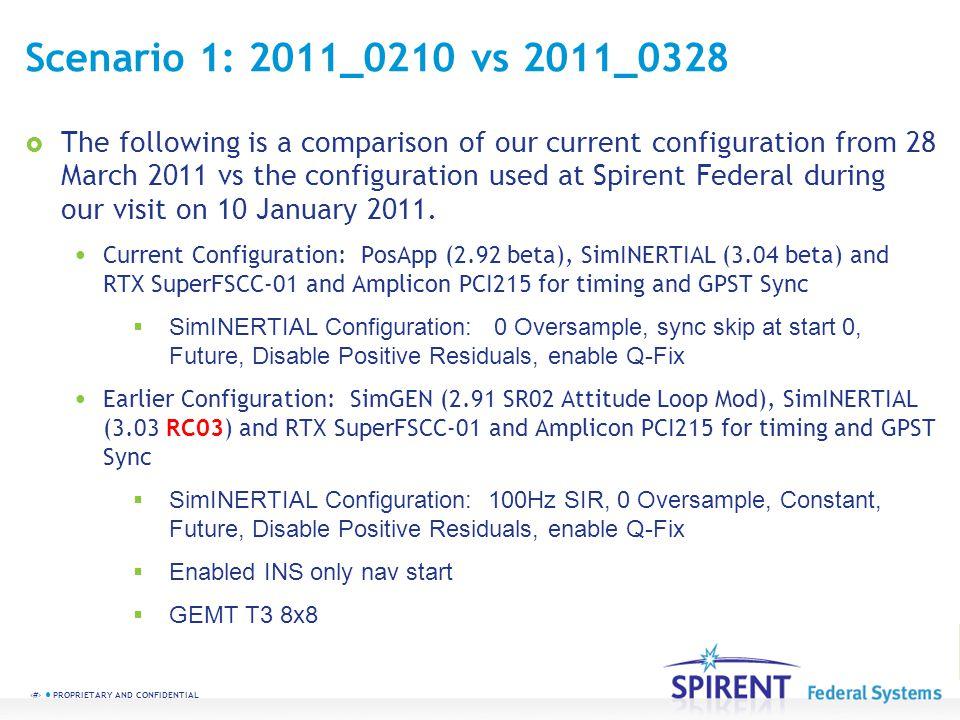 Scenario 1: 2011_0210 vs 2011_0328