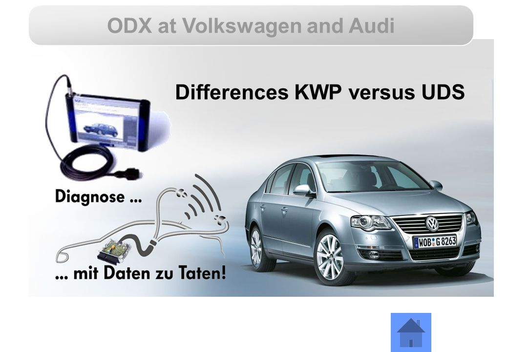 ODX at Volkswagen and Audi Differences KWP versus UDS