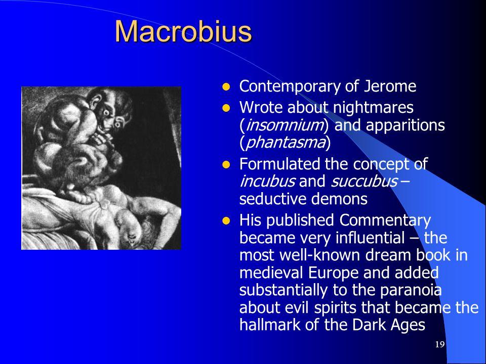 Macrobius Contemporary of Jerome
