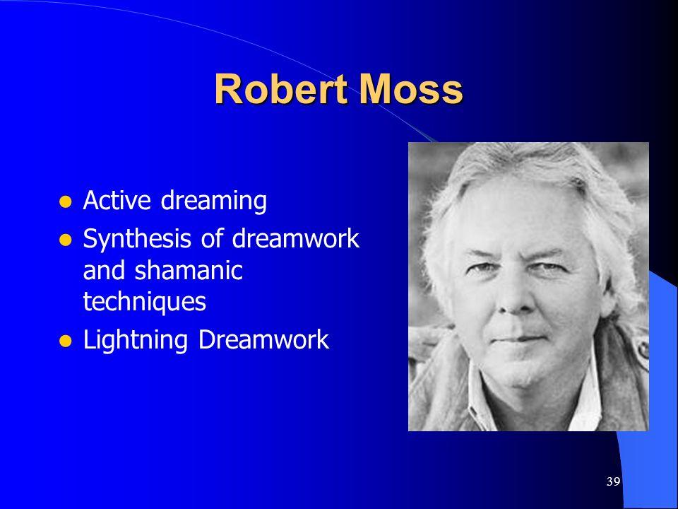 Robert Moss Active dreaming
