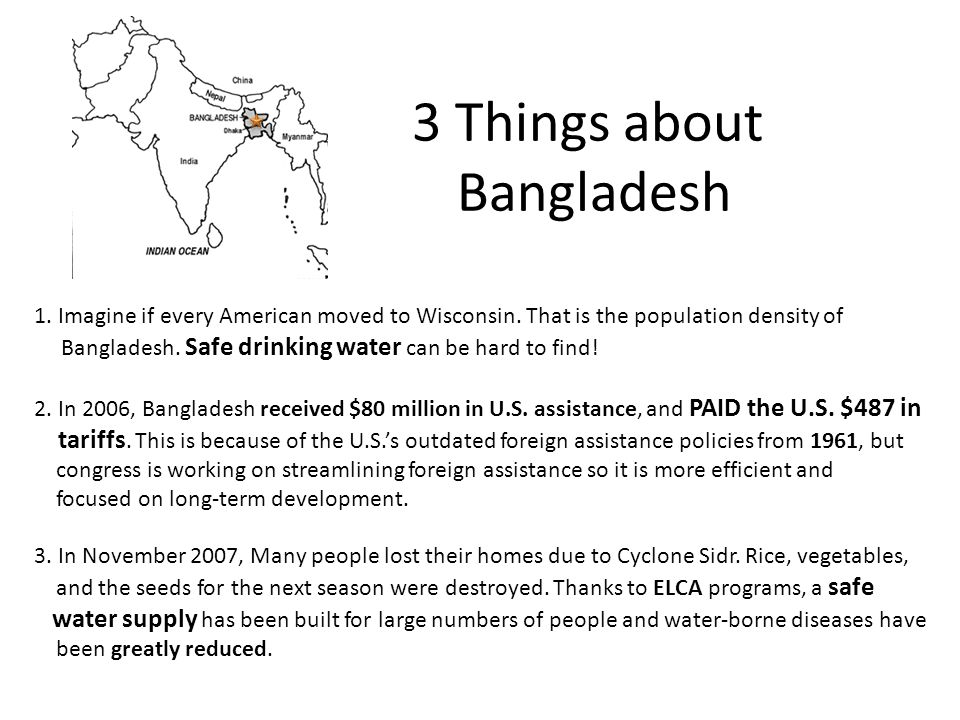 3 Things about Bangladesh