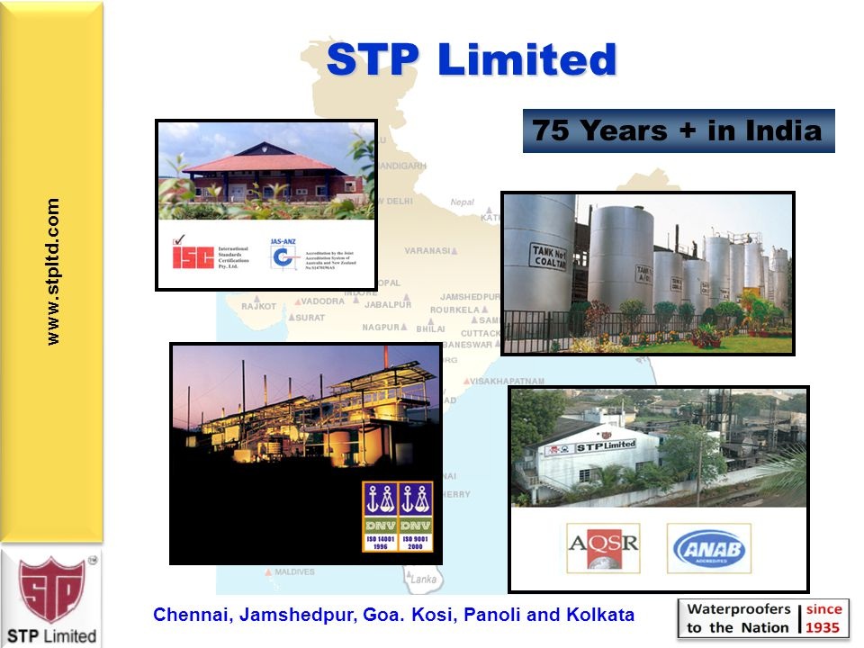 STP Limited 75 Years + in India