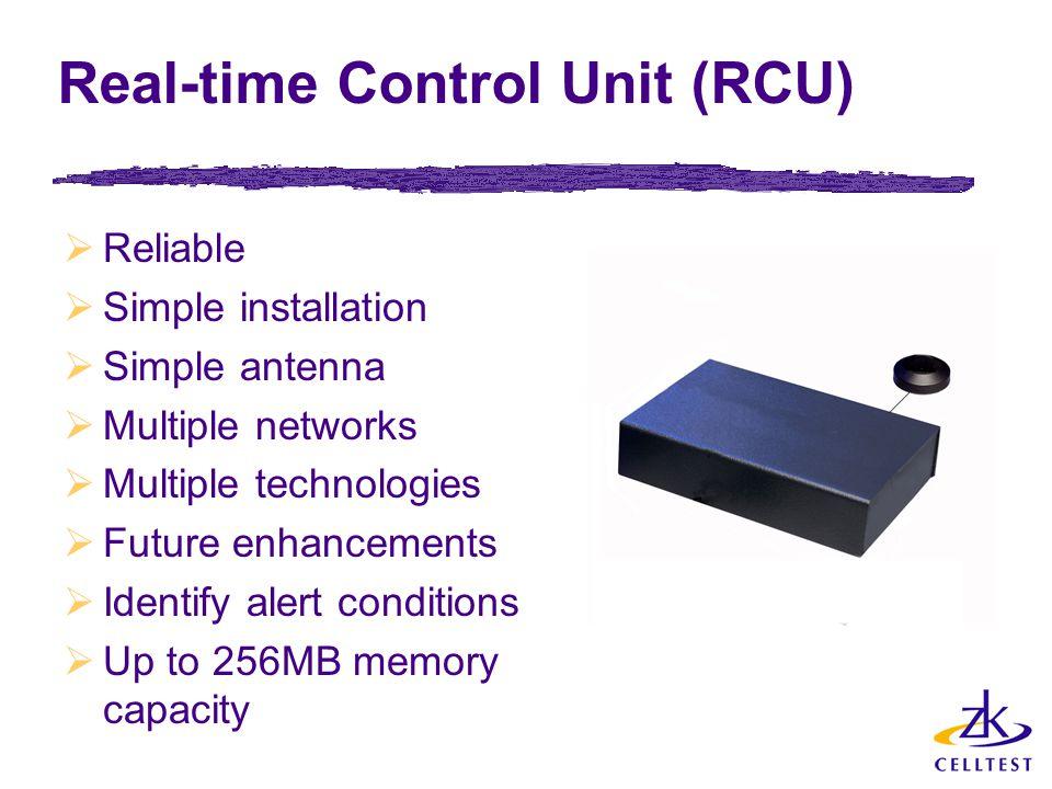 Real-time Control Unit (RCU)