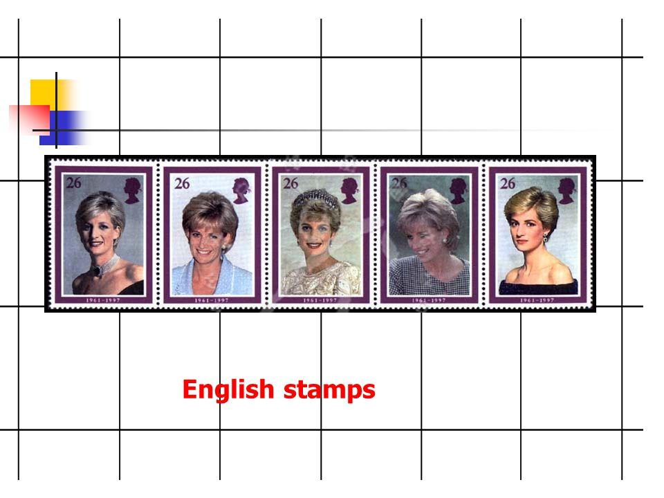 English stamps