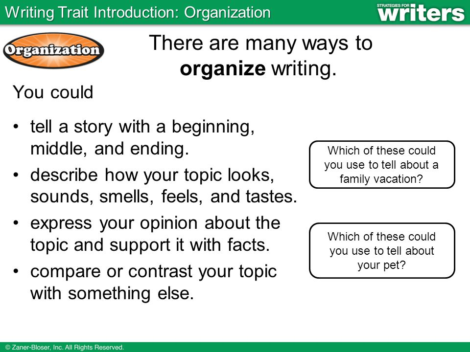 way to organize the supporting points in your essay Helpi've been asked to synthesize you should organize your data to make it support your main point—or thesis.