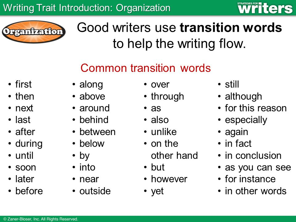 what are some good words to use in a essay Transitional words and phrases can create powerful links between ideas in your paper and can help your before using a particular transitional word in your.