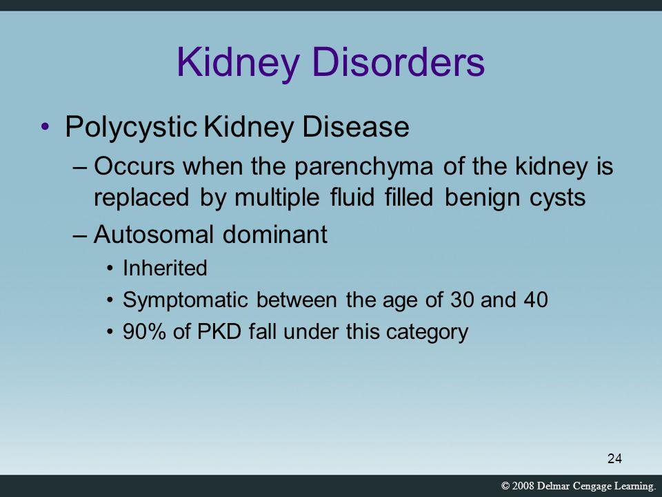 Kidney Disorders Polycystic Kidney Disease